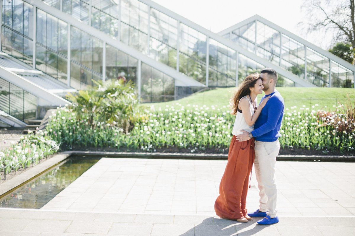 engagement session london kew gardens