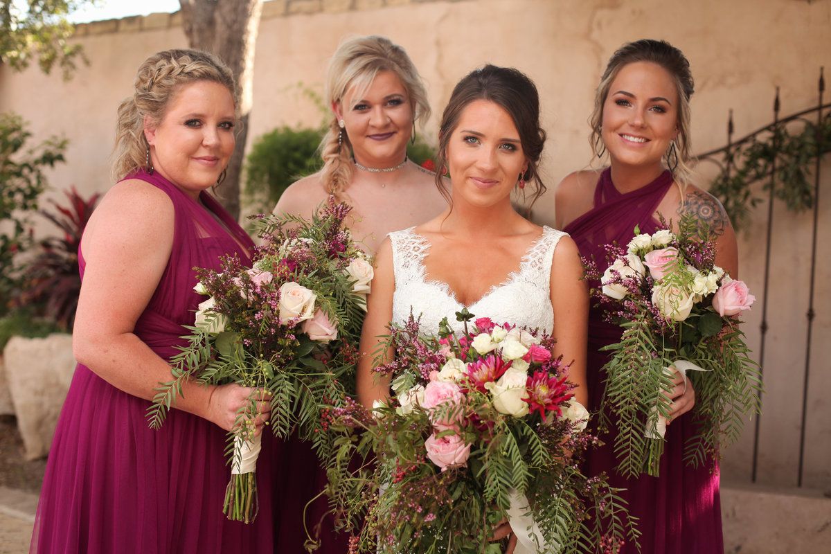 Bridal_Party_Kesslers_Studio_1401_Midland_Texas