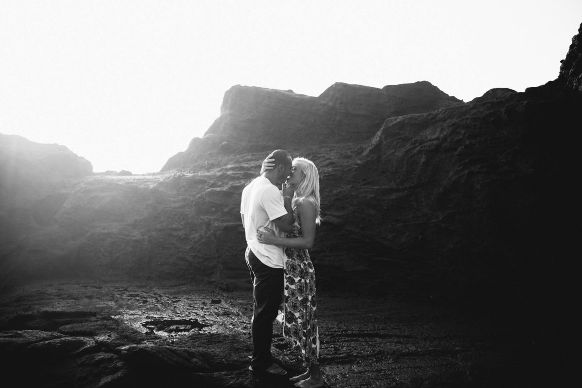 Eternity Beach Honolulu Hawaii Destination Engagement Session - 34