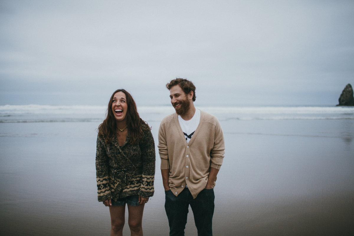 Cannon Beach Engagement, Portland Wedding Photographer