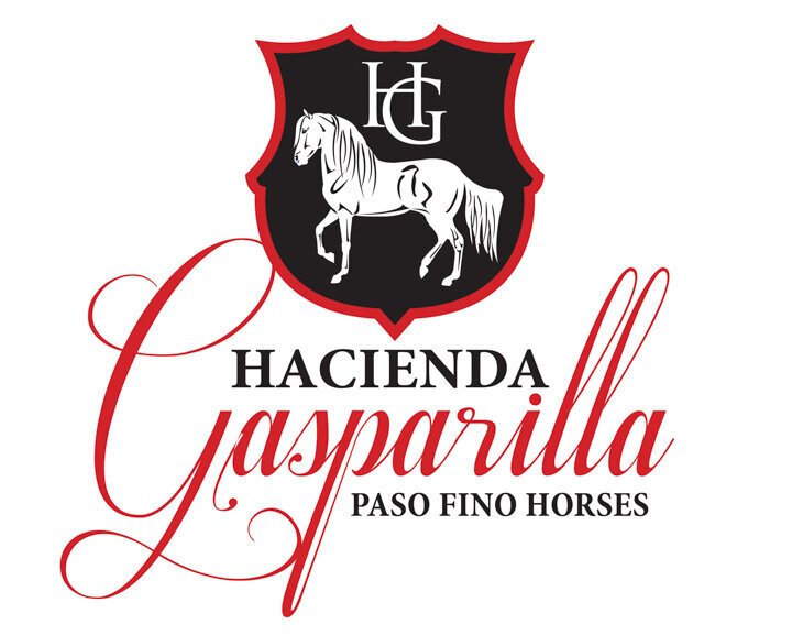 horse farm logo design