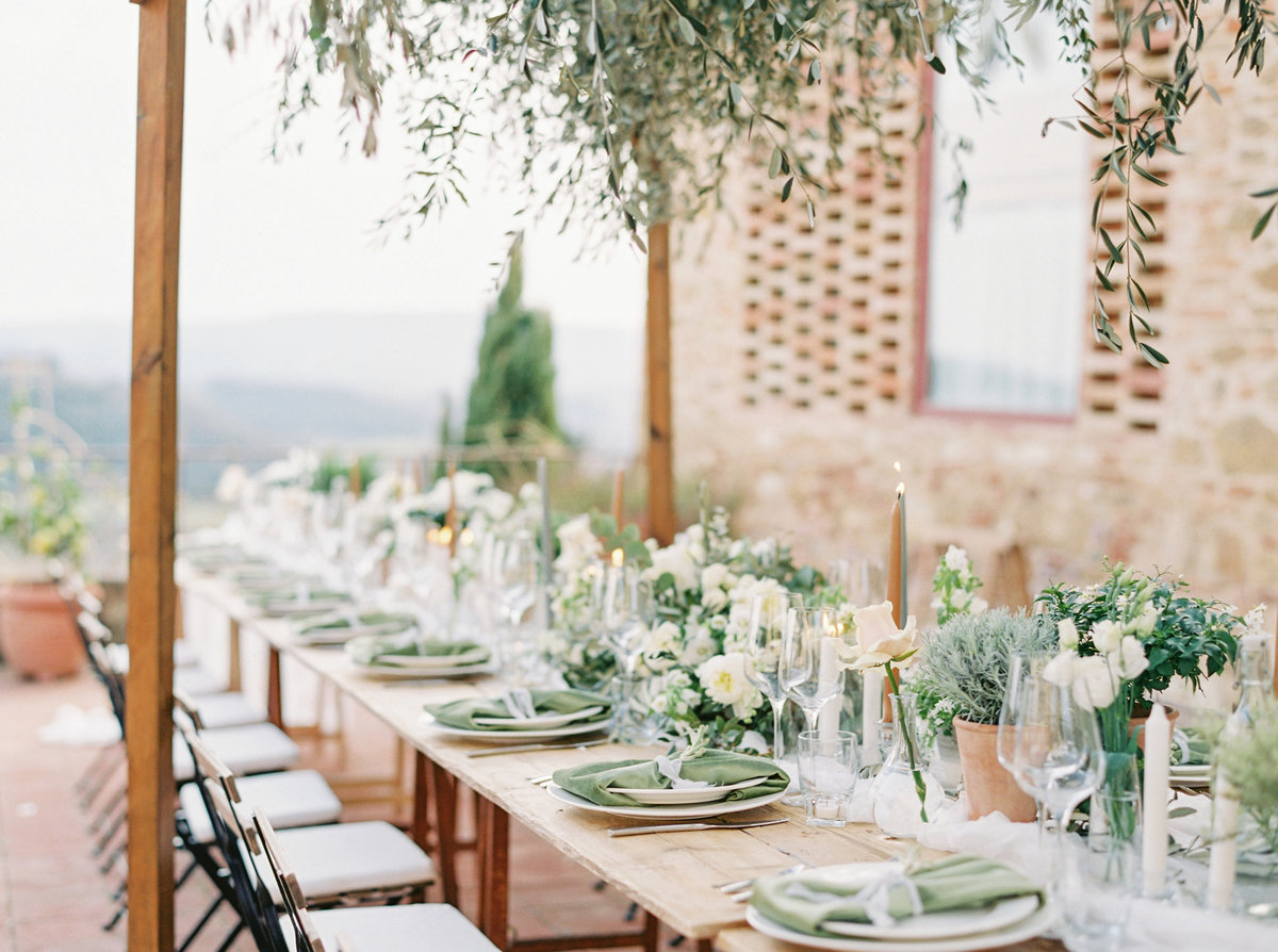 Tuscany Wedding Erica Nick - Lauren Fair Photography314