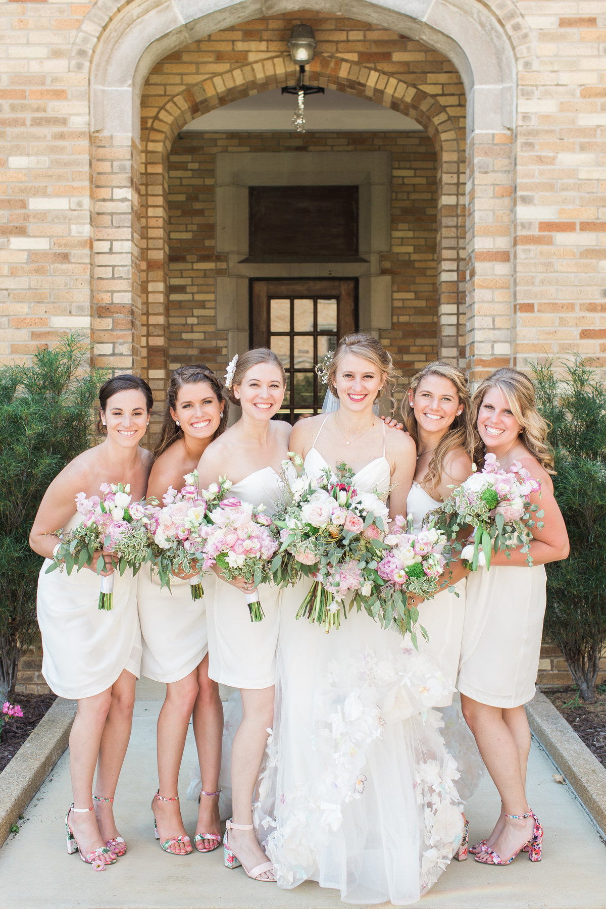 Basilica of the Sacred Heart Bridesmaid Dress Photo