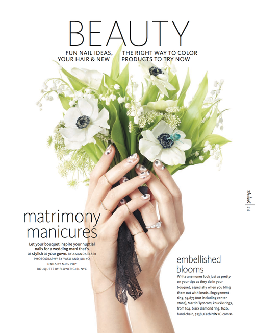 Sarah Kay Love Featured Work Bouquet Manicure Inspiration1