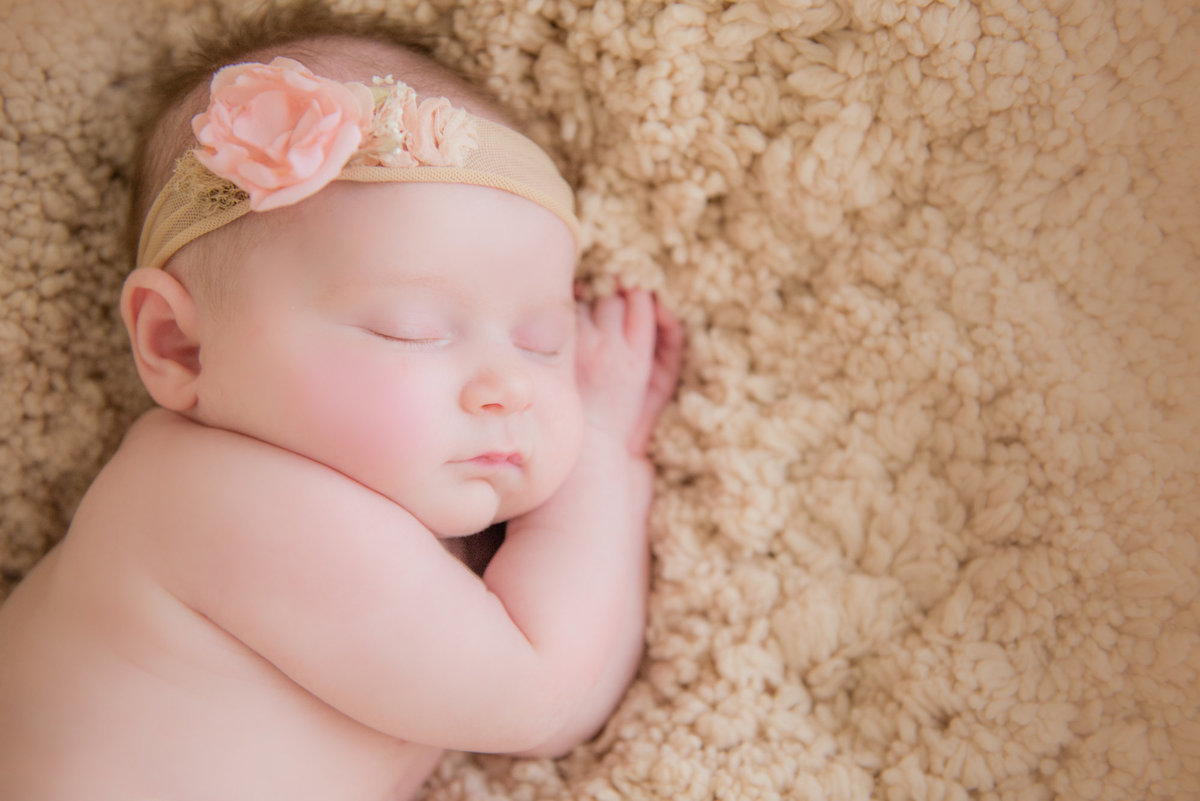 northern michigan baby portrait photography