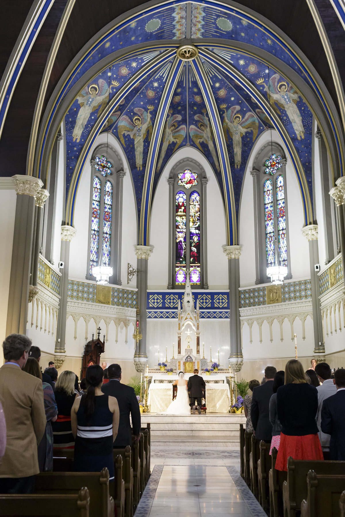 St. John the Evangelist Catholic Church Indianapolis Wedding