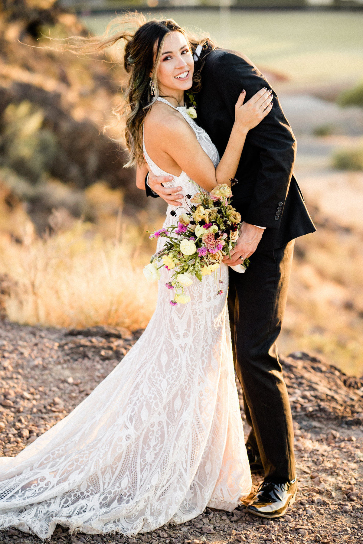 Atlas Rose Photography AZ - Adventure Elopement At The Buttes 03