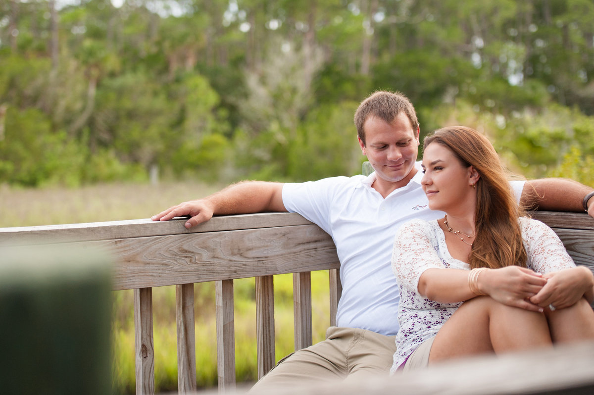 engagement photography New  Smyrna Beach