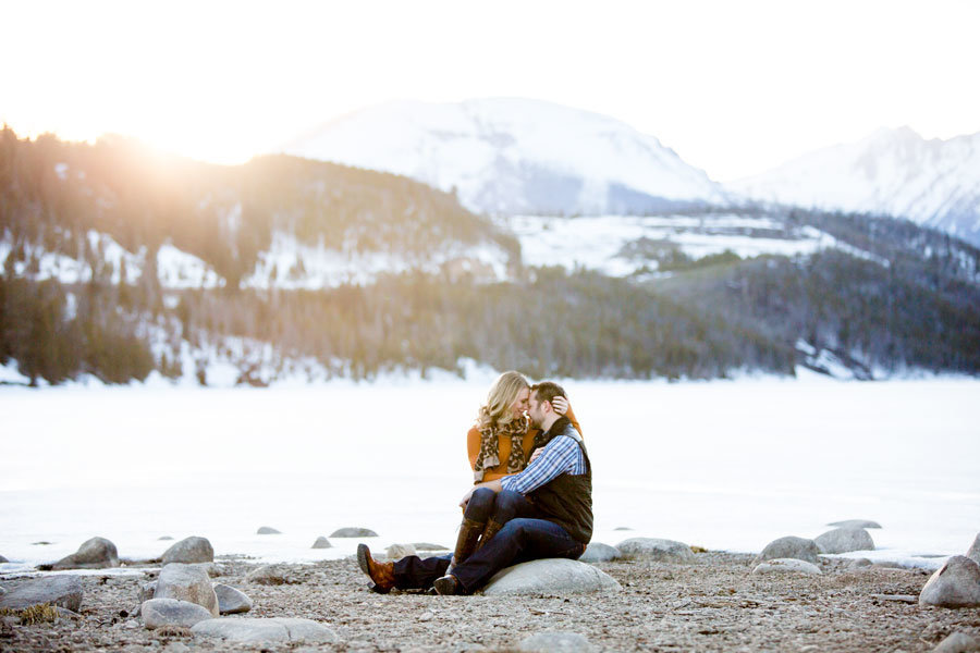 Lake Dillon Engagement sapphire point