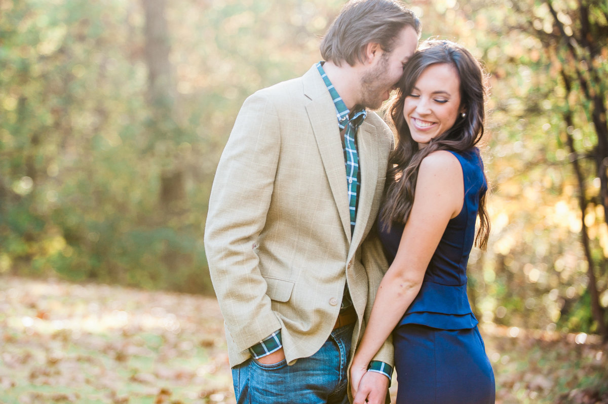 Bentonville and Fayetteville Engagement and wedding photographer, NWA wedding and engagement photographer, engaged couple in love kissing, engagement photo inspiration-14