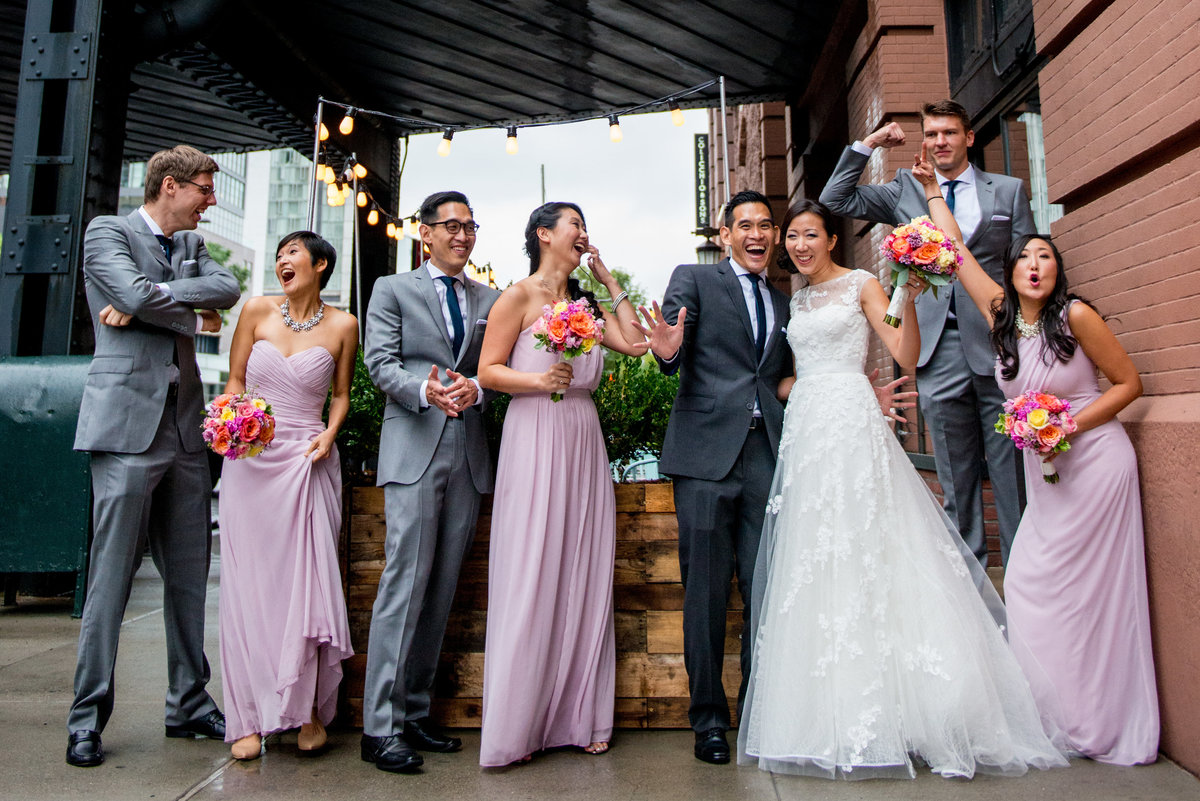 NYC Manhattan Penthouse Wedding Planner Colorful K. Barner Events 6