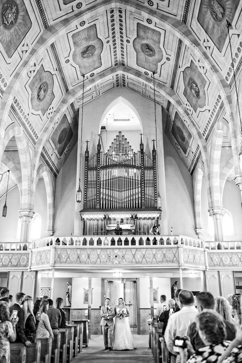 VT photographer for church wedding