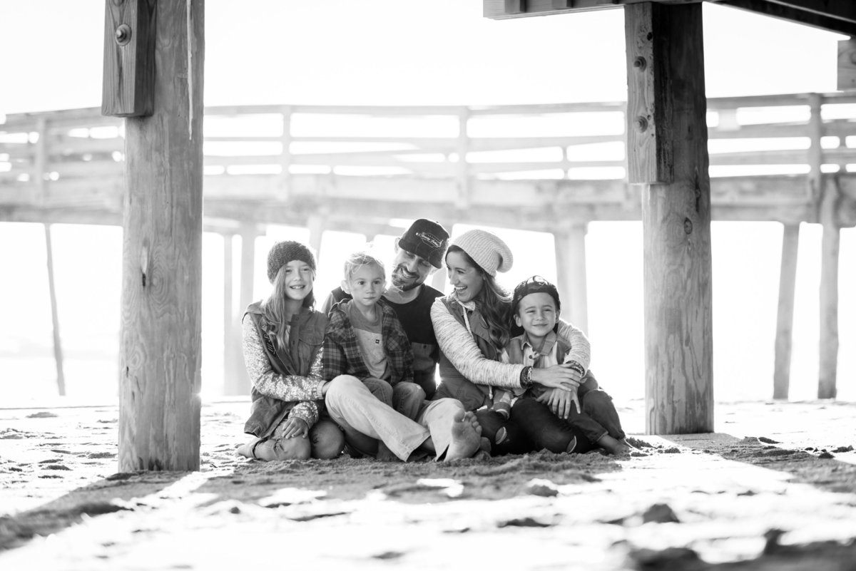 Whole Beach Family Session-0001