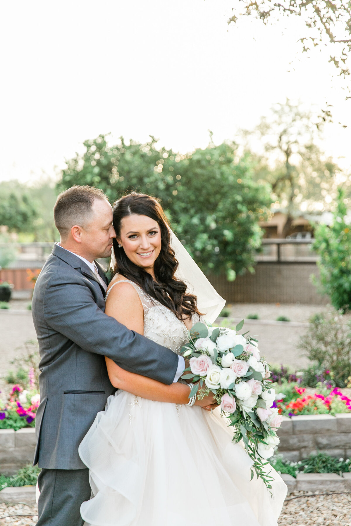Karlie Colleen Photography - Glendale Arizona Backyard ranch wedding - Meghan & Ken-454
