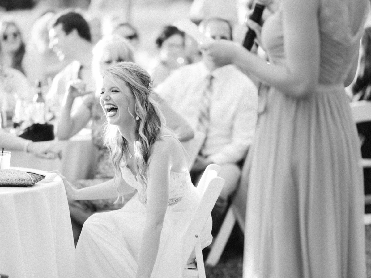 bourne farm bride laughing speeches boston photographer