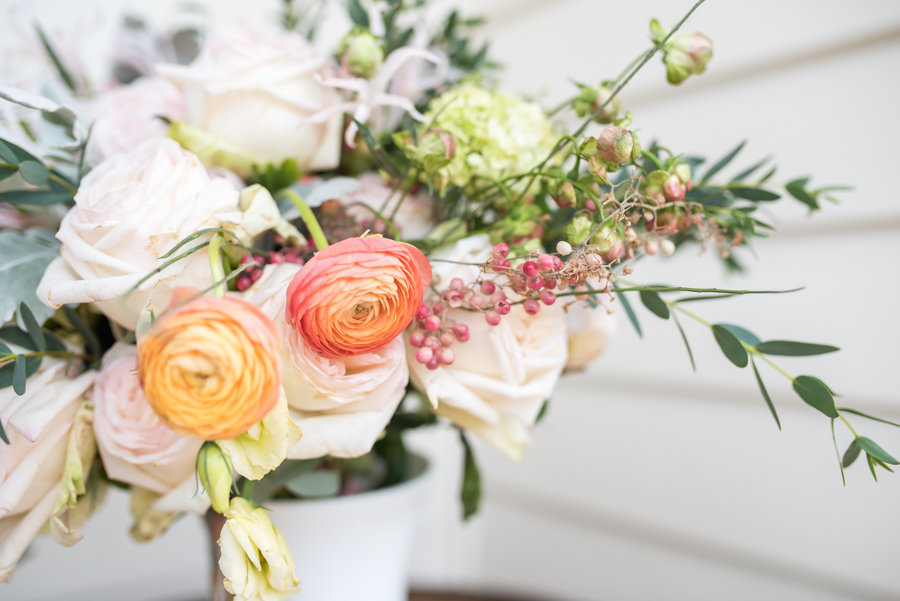 gorgeous floral arrangement by eliza morrill
