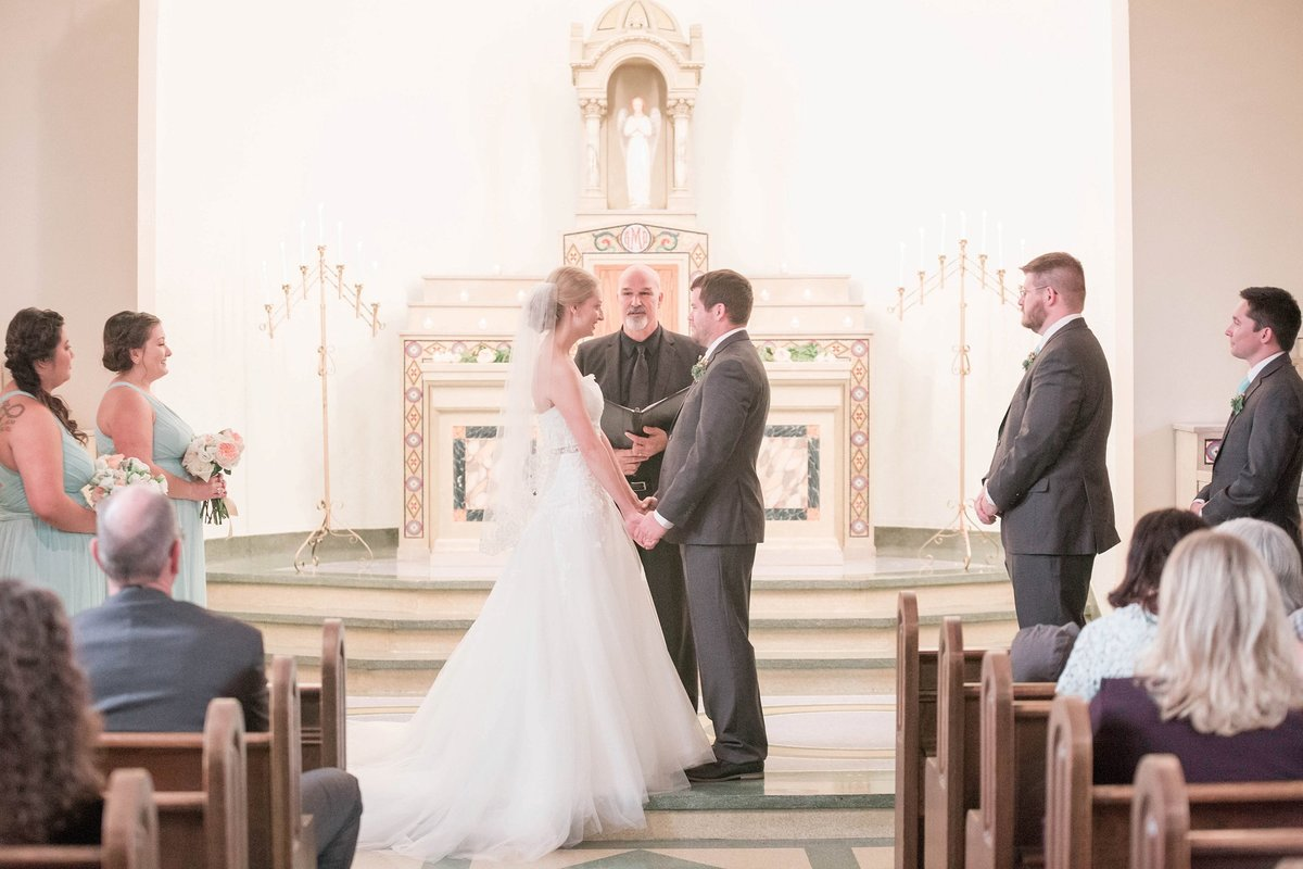 Mint and Blush Nazareth Hall Fall Wedding with First Look by Toledo and Detroit Based Wedding Photographers Kent & Stephanie Photography_0901