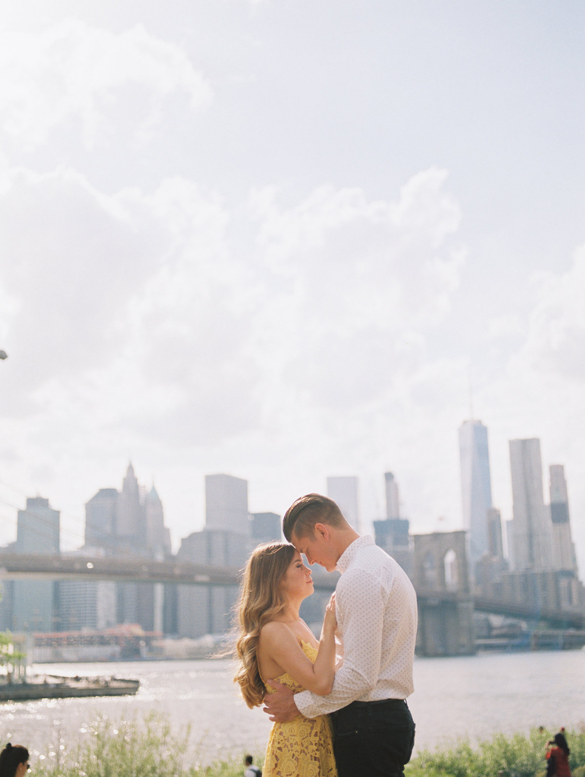 New York Engagement Session DUMBO