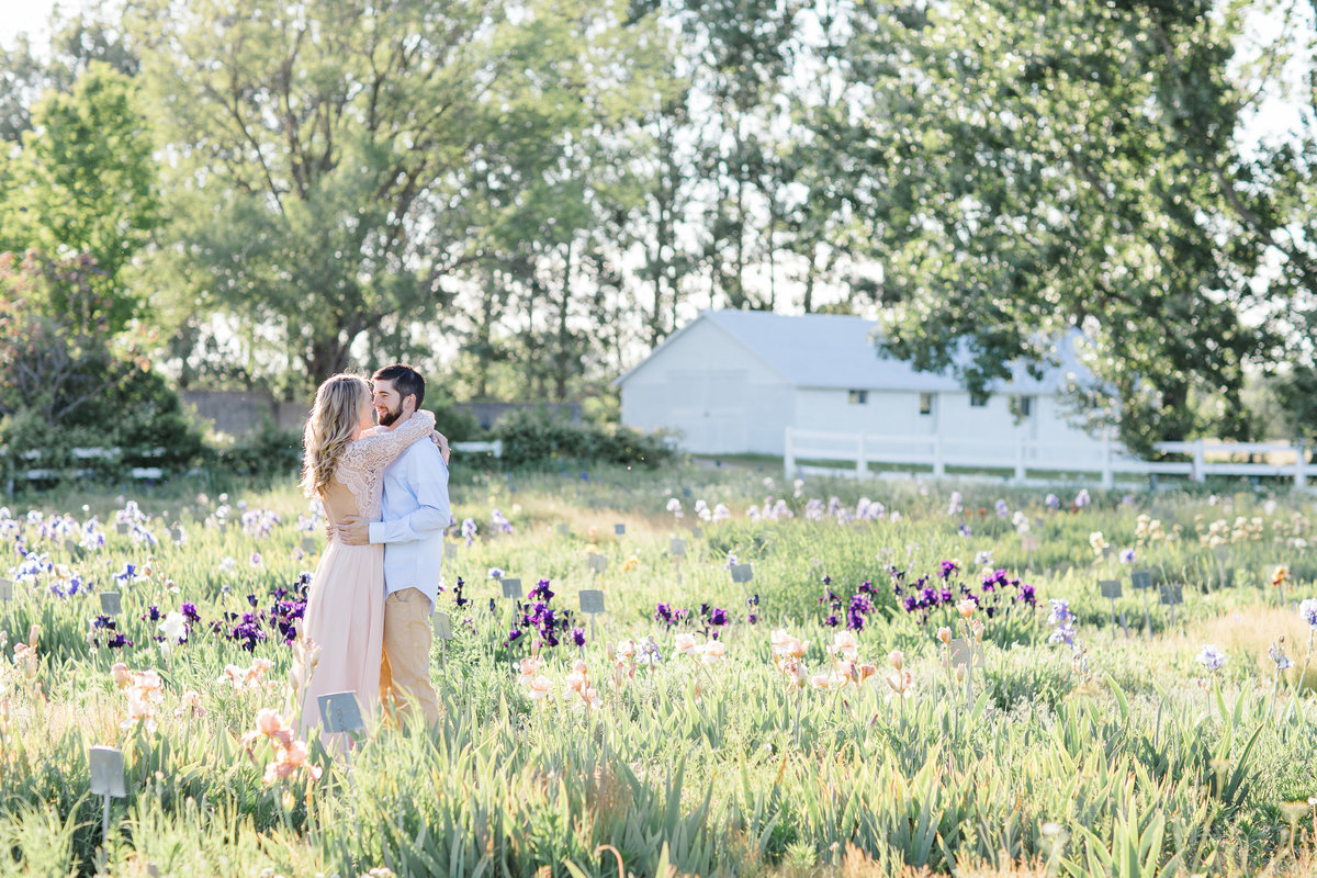 Traverse-City-Iris-Farm-Engagement