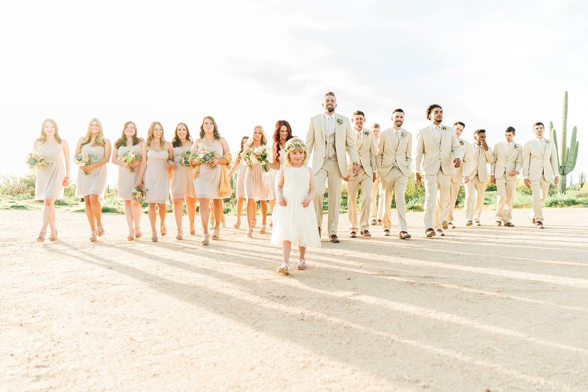 The Paseo wedding photos in the desert Arizona wedding photographers Dan & Erin PhotoCinema
