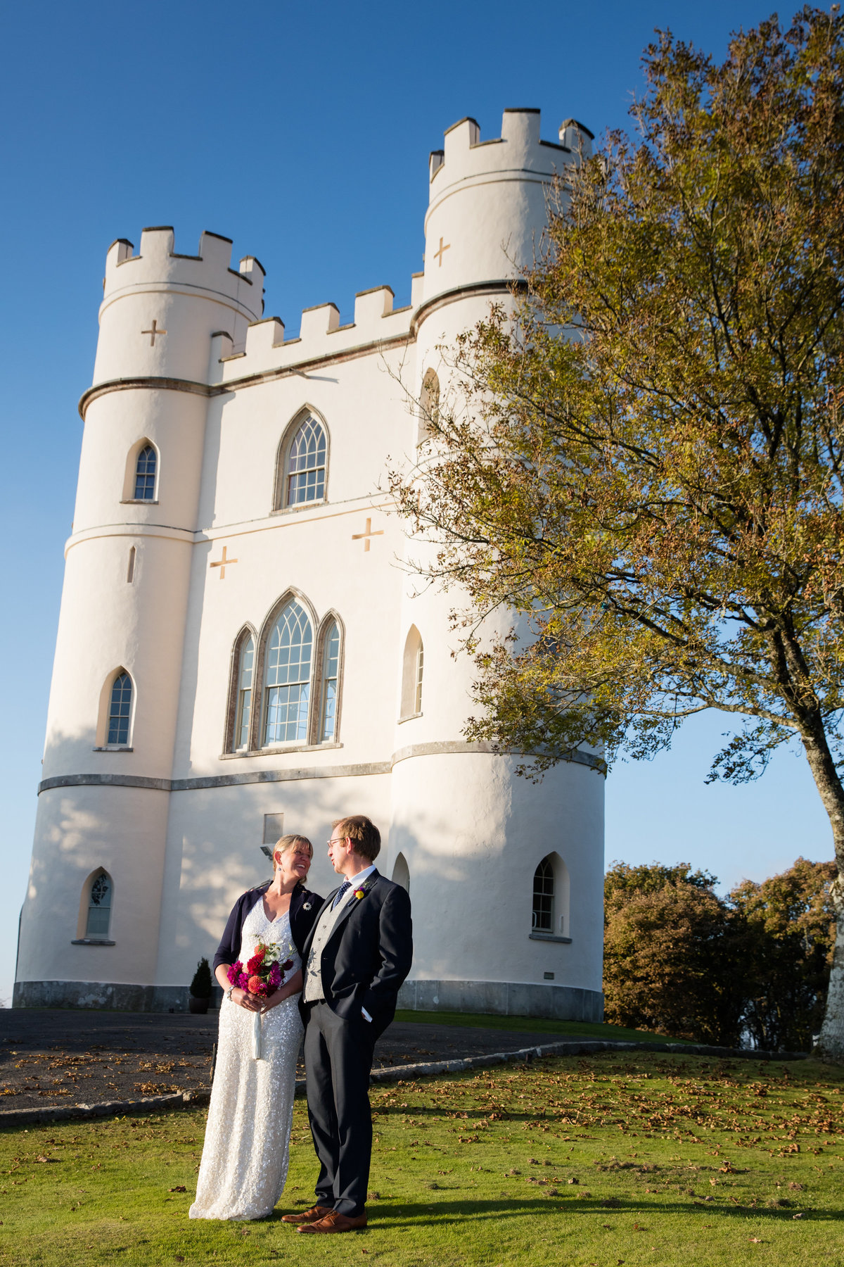 haldon tower near exeter wedding photographer