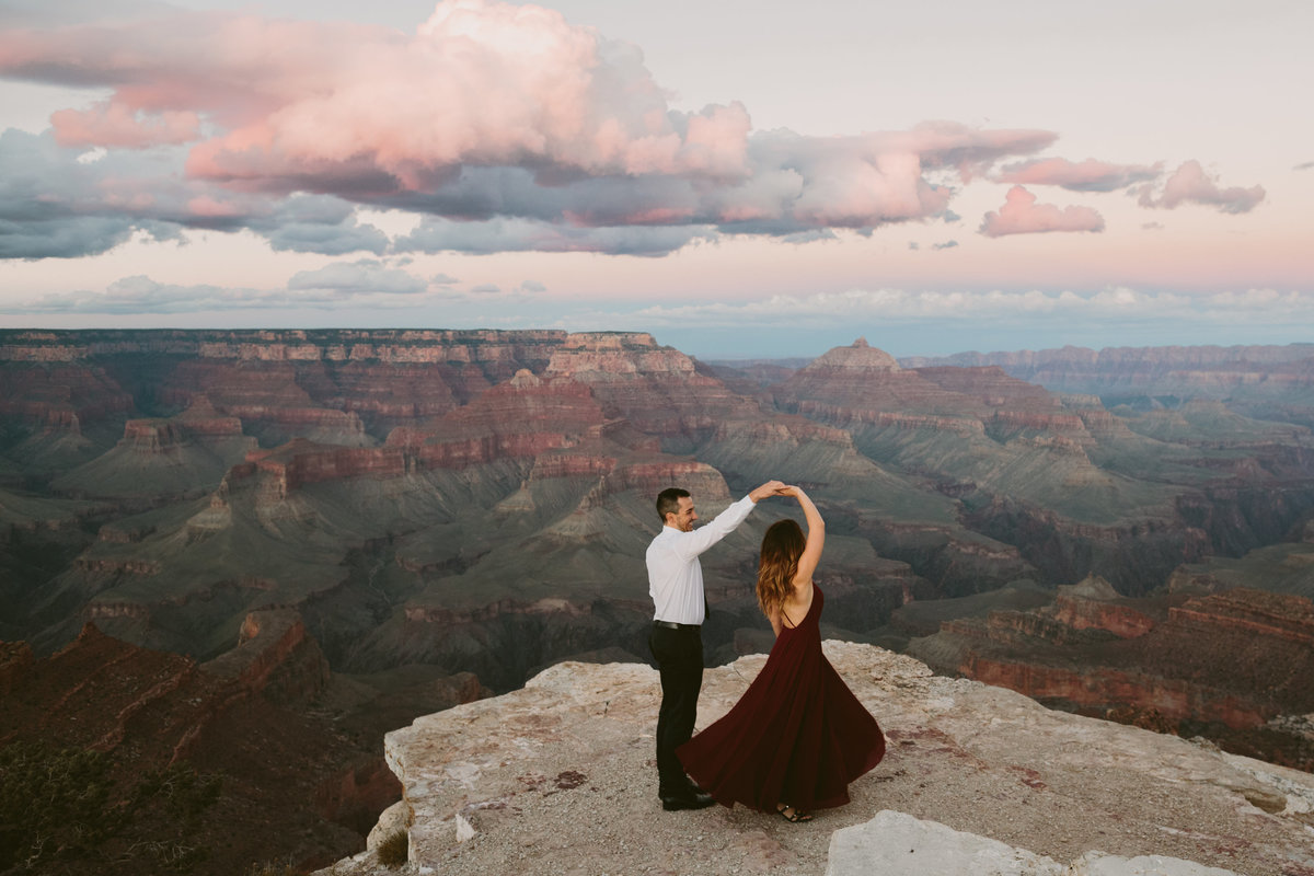 Grand Canyon Wedding and Engagement Photos