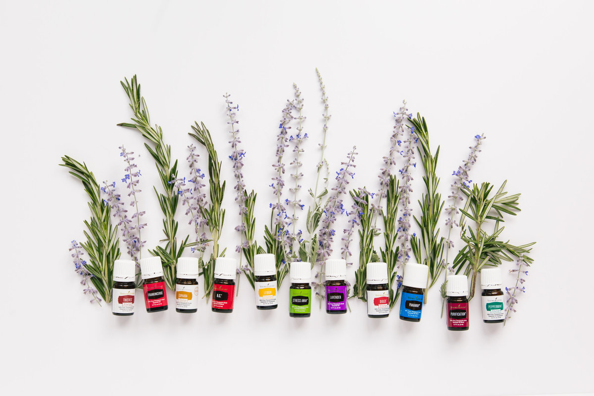 young living essential oils photography  etsy product photos