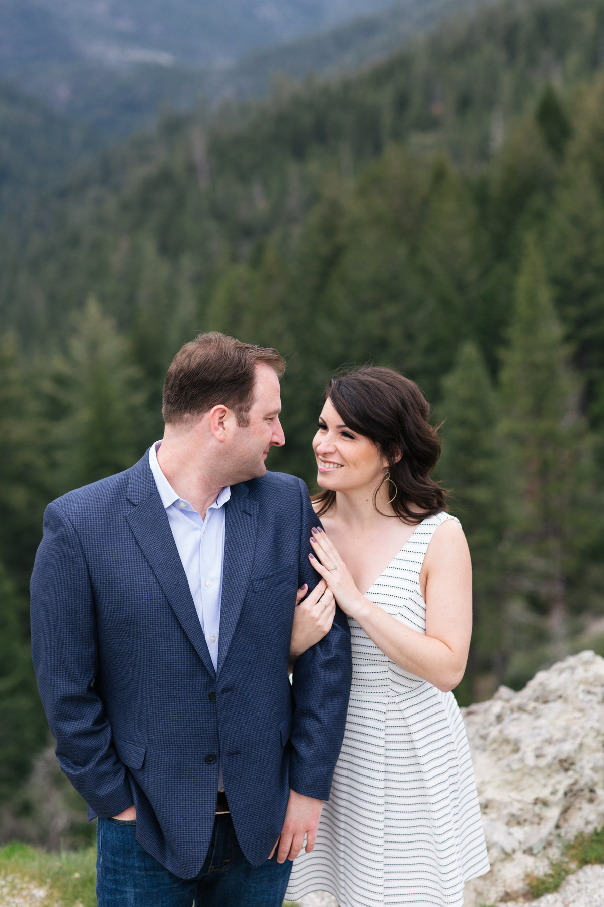 Lake Tahoe engagement session