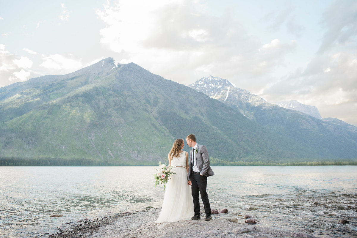 Rocky Mountain Wedding Photo by Michelle Kujawski Photography