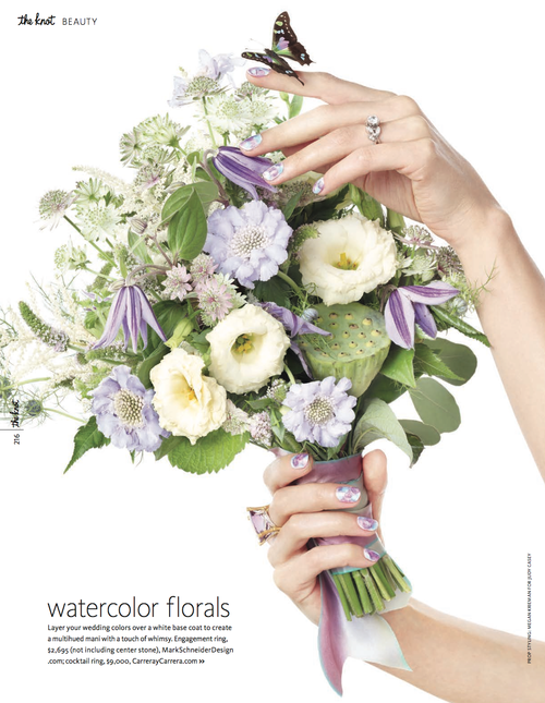 Sarah Kay Love Featured Work Bouquet Manicure Inspiration3