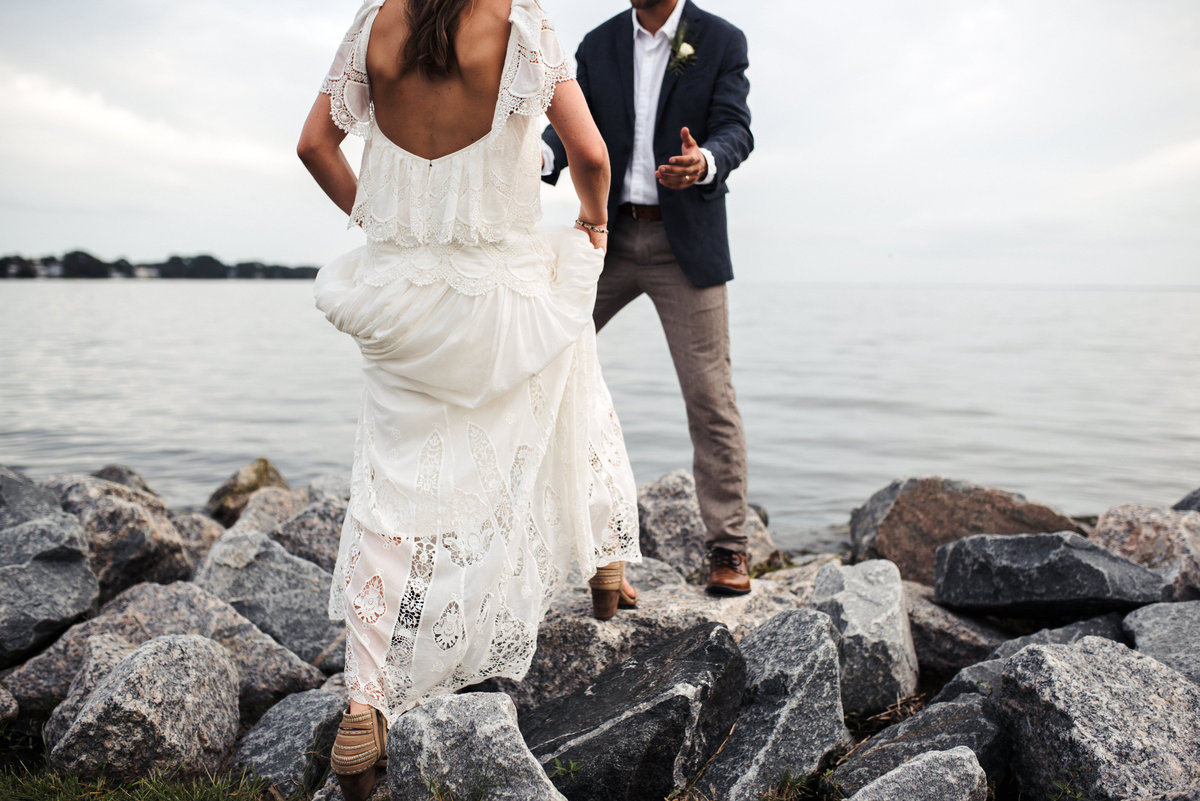 Outer Banks Whalehead Club Wedding 91