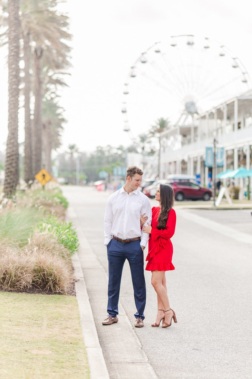 ferris wheel engagement pictures | Toni Goodie Photography