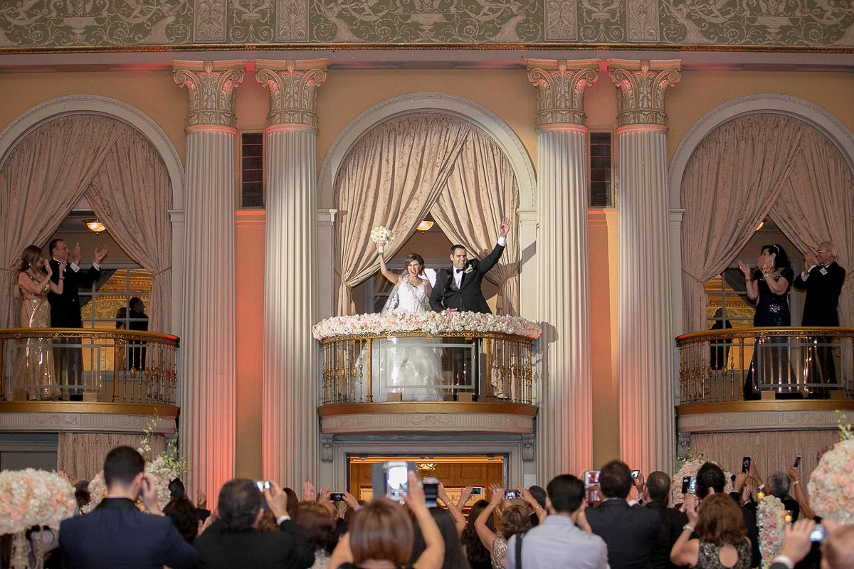 Millennium Biltmore Hotel Wedding Party