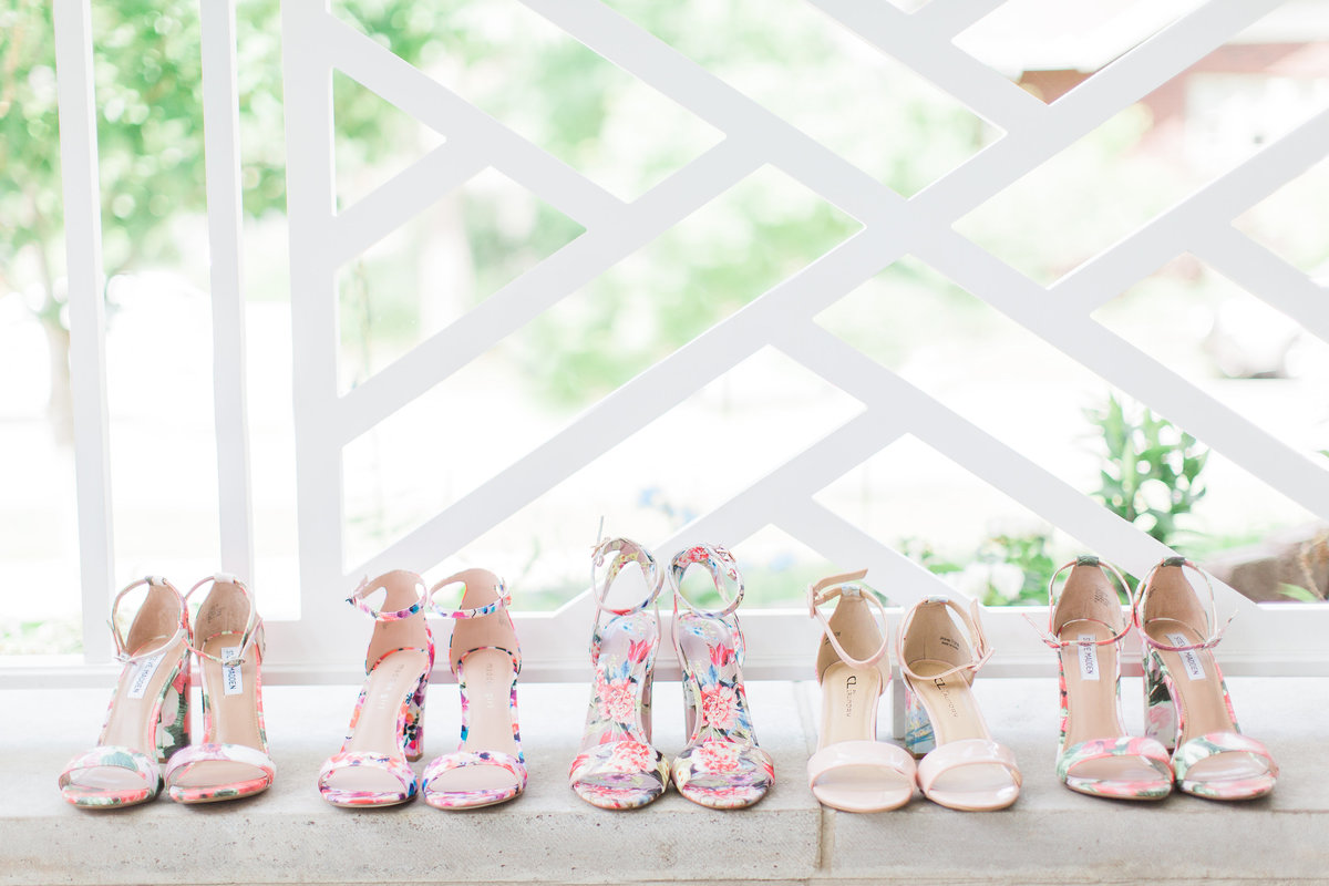 Basilica of the Sacred Heart Bridesmaid Shoes Photo