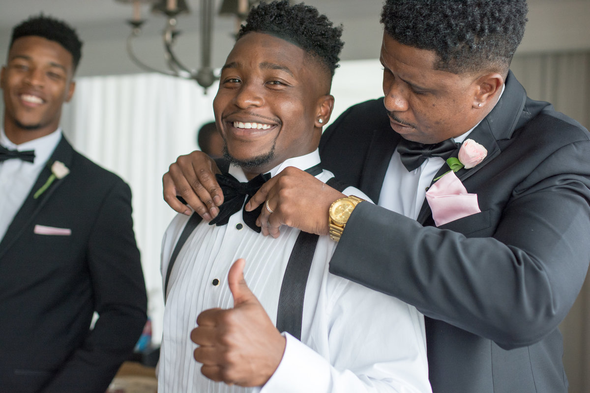 NFL Miami Dolphins Brandon Radcliff ShaKyra Radcliff Briza on the Bay Wedding Andrea Arostegui Photography-27