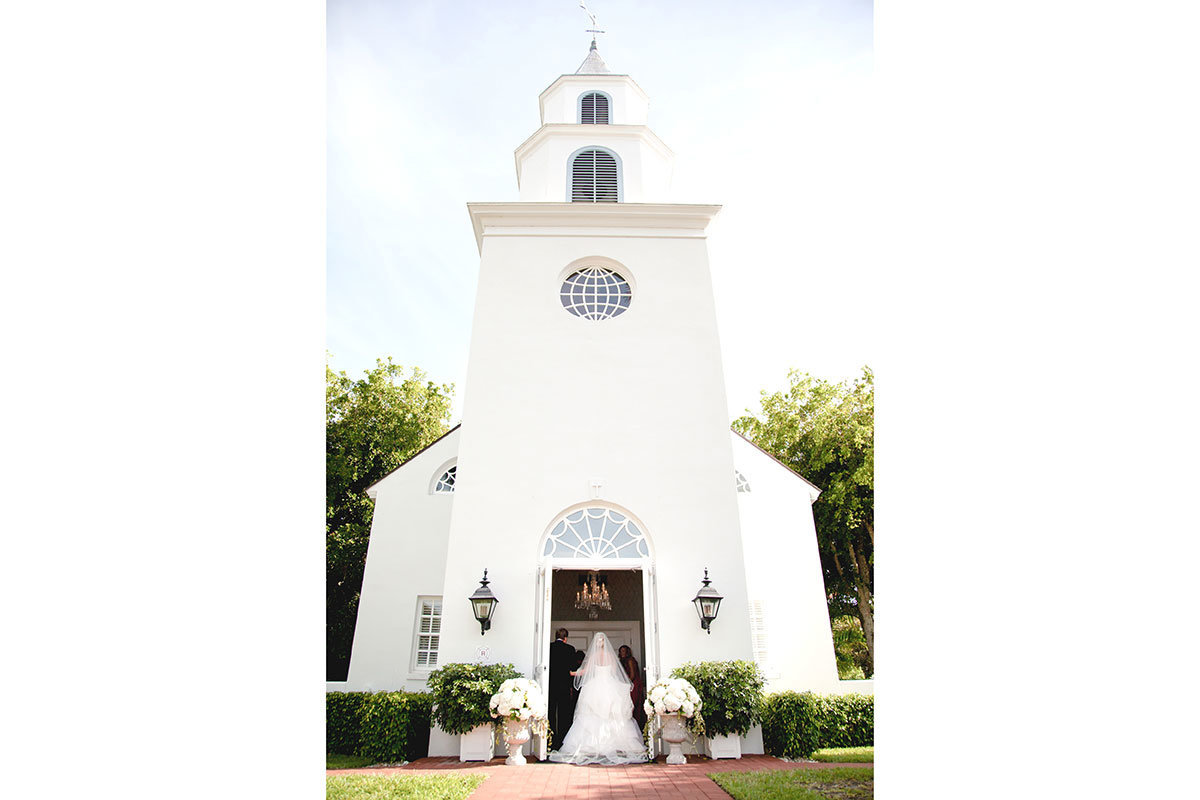chapel by the sea wedding photo