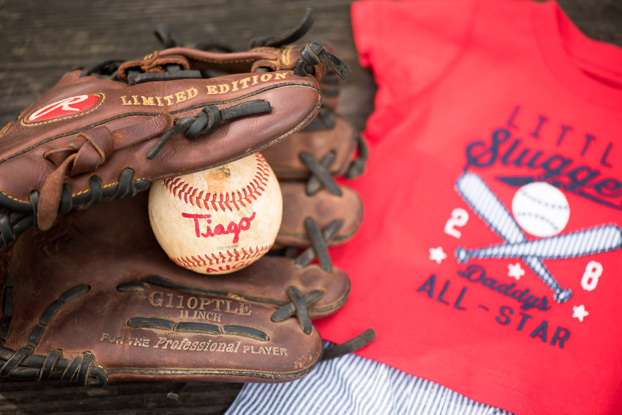 Baseball Maternity Shoot