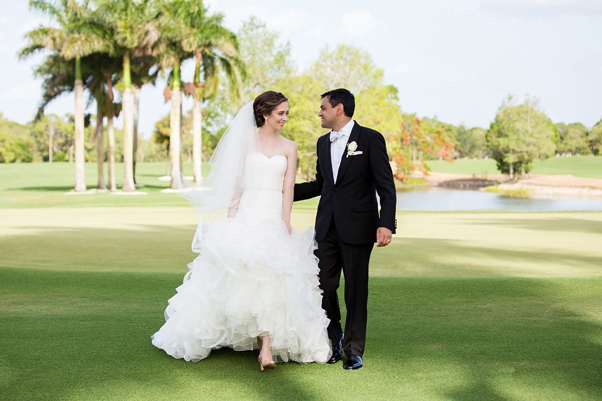 wyndemore country club wedding photo