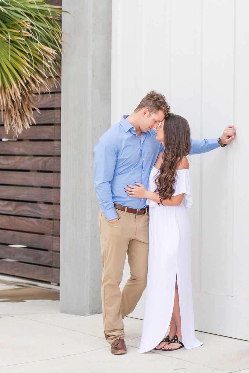 romantic gulf shores engagement session by toni goodie photography