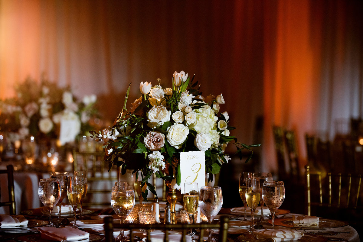 Doral Park Country Club Ever After Floral Centerpieces