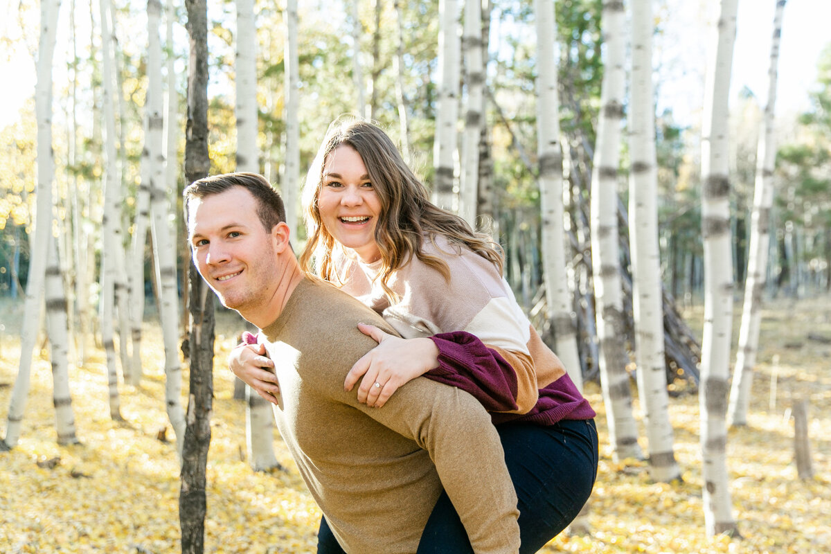 Karlie Colleen Photography - Flagstaff Arizona Engagement Photographer - Britt & Josh -80