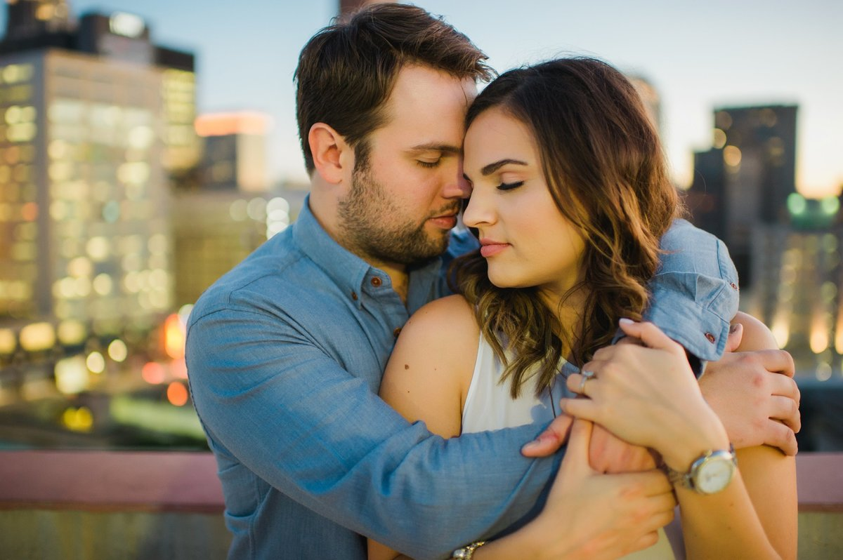 Detroit Engagement Photos, Detroit Engagement Photographer, Z Garage Engagement Photos, Campus Martius Engagement Photographer