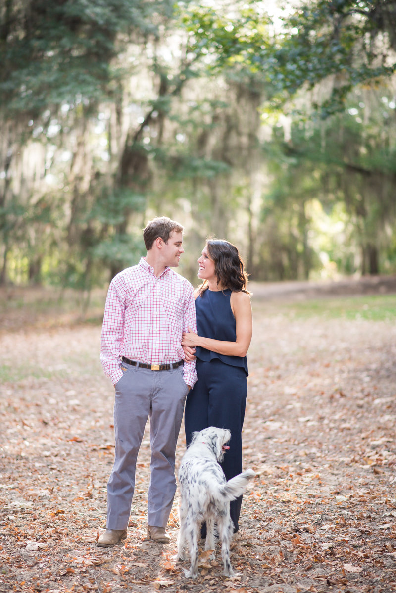 Sunset Engagement Session by Georgia Wedding Photographer Eliza Morrill-9