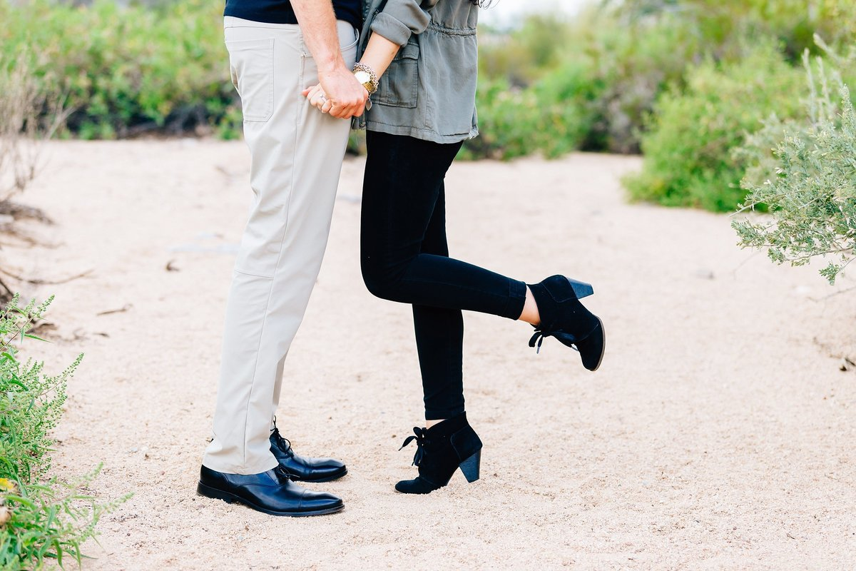Lunabear Studios - Desert Engagement Session - Scottsdale Arizona Photography-1_WEB