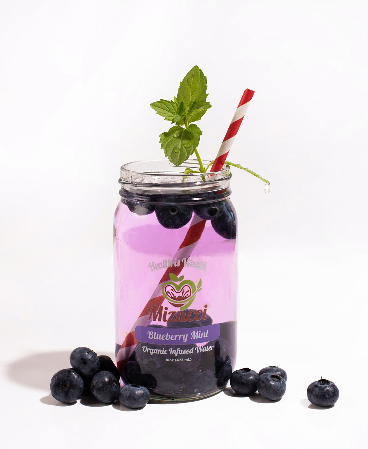 infused water product photography los angeles