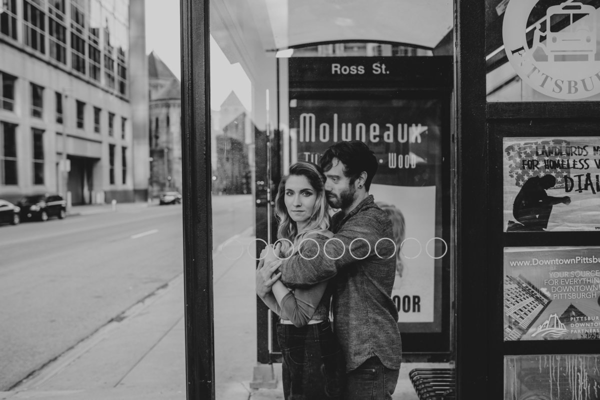 downtown pgh engagement photos-2