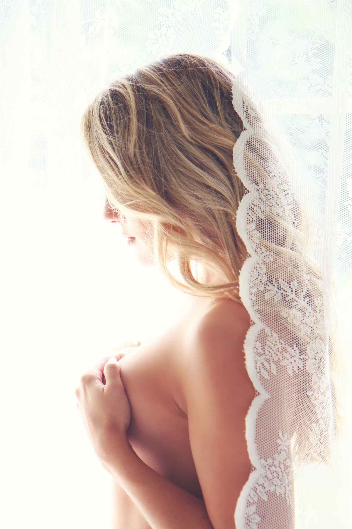 fine art bridal boudoir photo