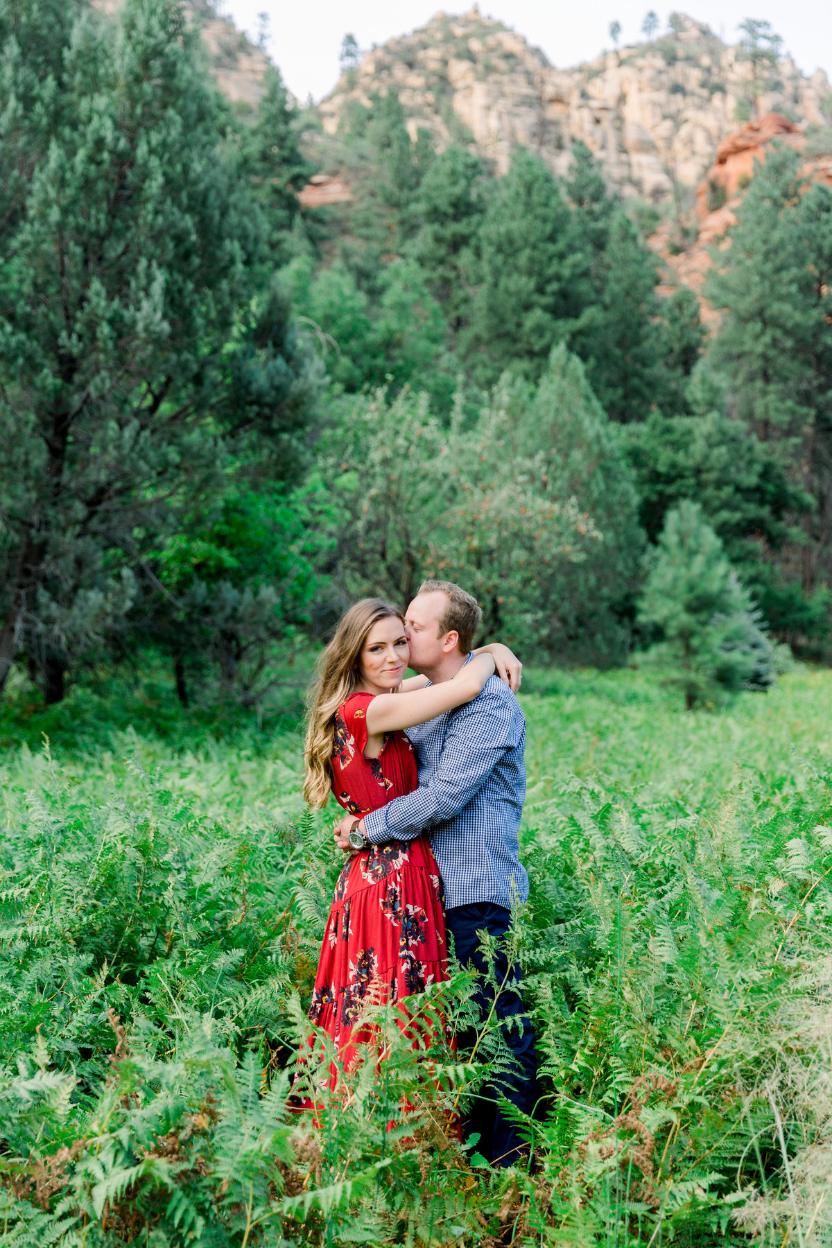 Karlie Colleen Photography - Sarah & Bradley - Sedona Arizona Engagement -2
