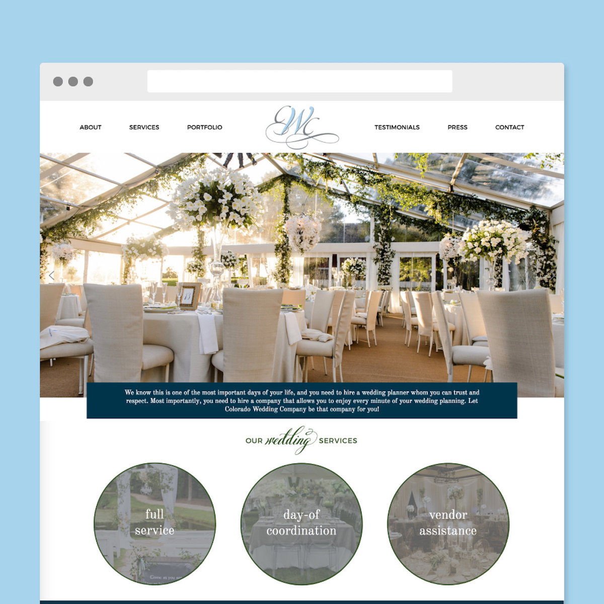 Colorado-Wedding-Website