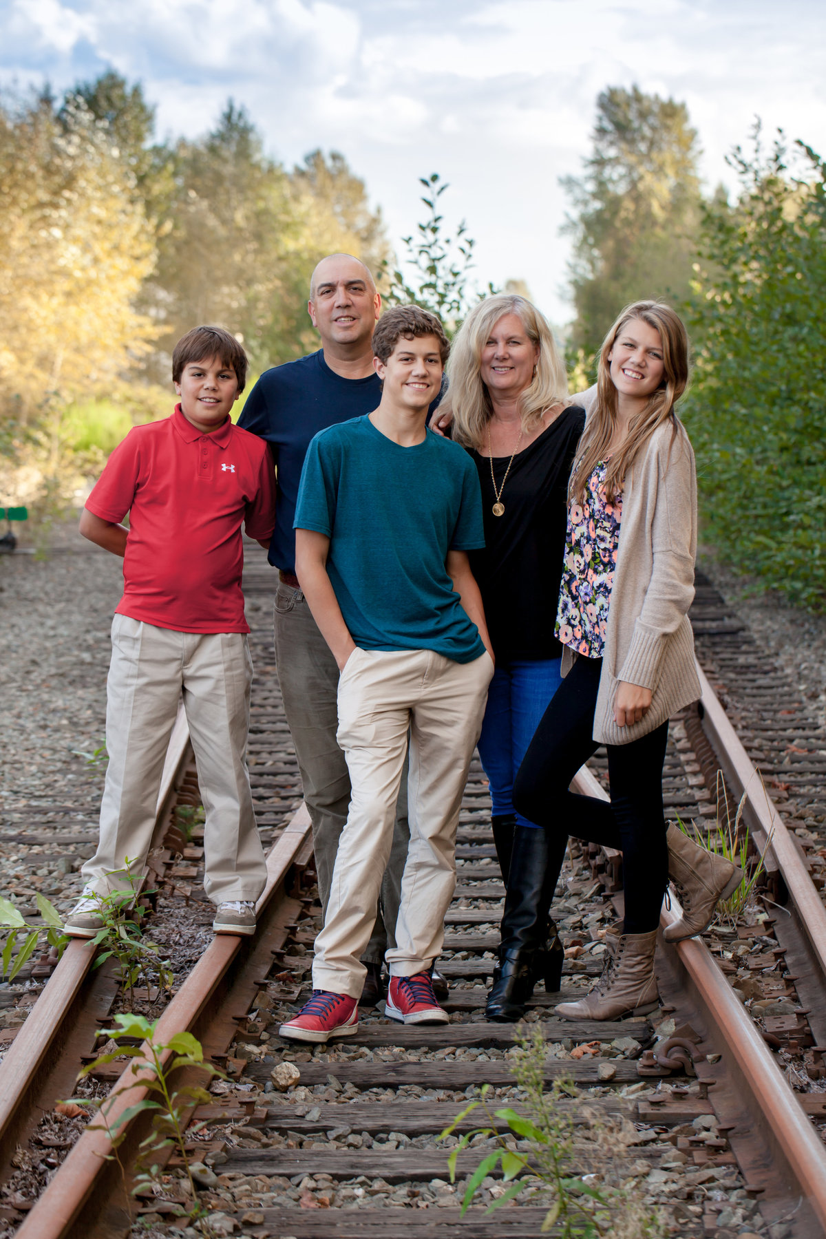 Family photo session in Bellevue, WA